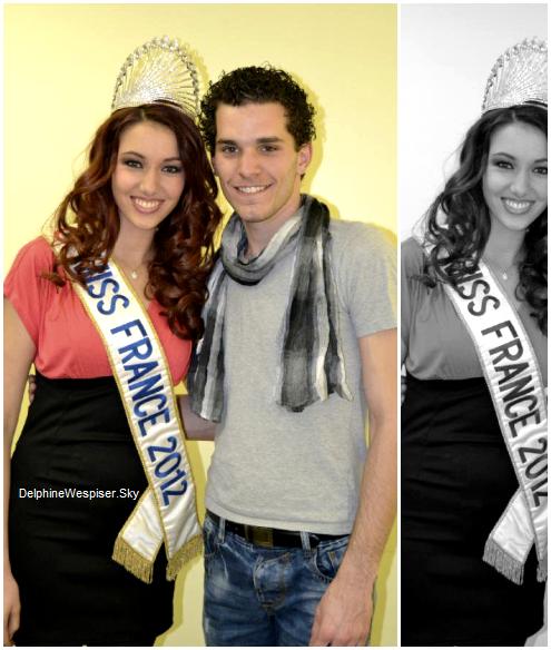 03/03/12 : Nouvelle photo ♥ de Julien d'Orcel et Miss Gard 2012