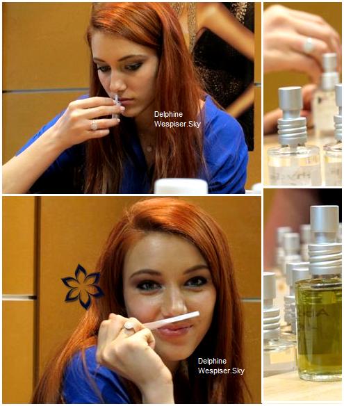 04/04/12 : Delphine pour son parfum d'ambiance