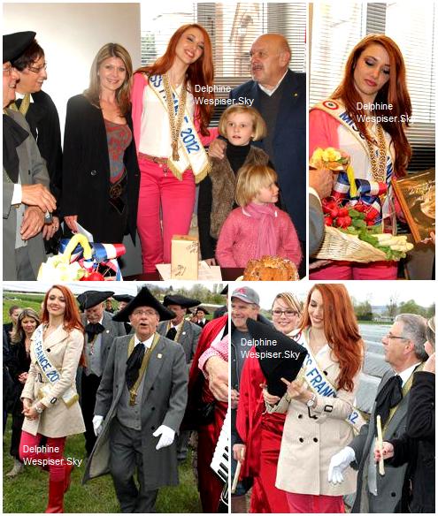 14/04/12 : Delphine à Village-Neuf pour le premier piquage d'asperge