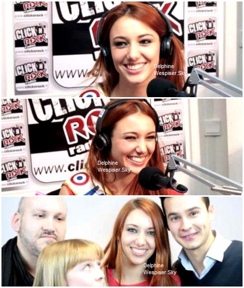 27/04/12 : Delphine chez Click'N'Rock Radio avec Willy Liechty