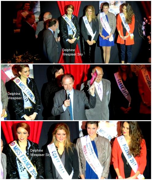 1/05/12 : Delphine en compagnie de d'anciennes Miss Régionales