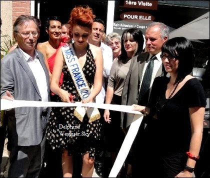 09/06/12 : Delphine au Salon Coiff Club