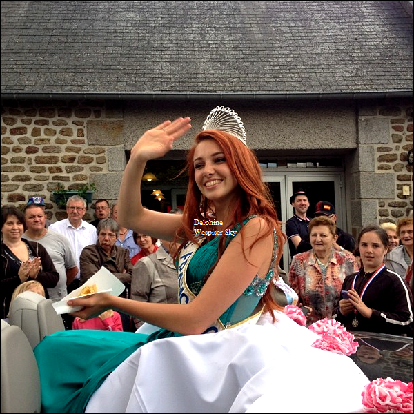 01/07/12 : Delphine au Carnaval de Carelles