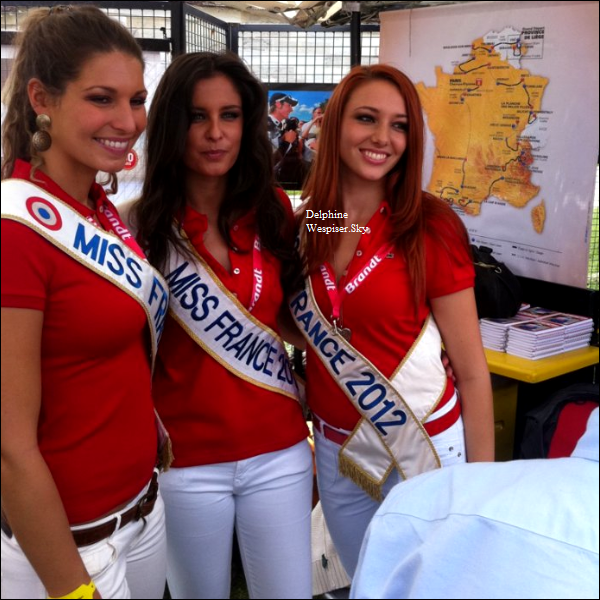 09/07/12 : Tour de France avec les Miss France