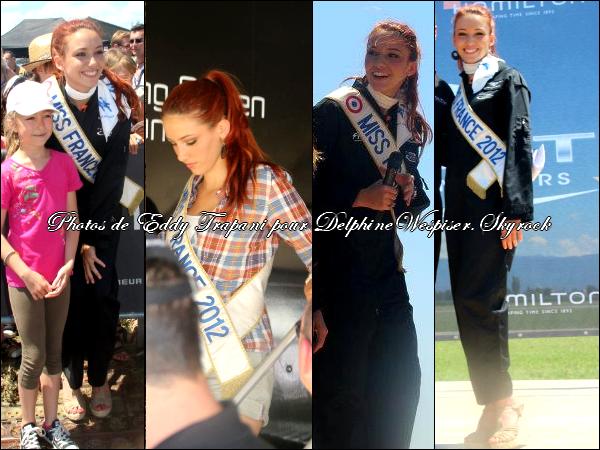 09/07/12 : Delphine au Grand Show Aérien à Chabeuil le 8 Juillet 2012
