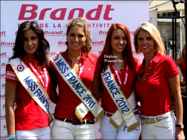 10/07/12 : Les 4 Miss France pour les 60 ans de Brandt