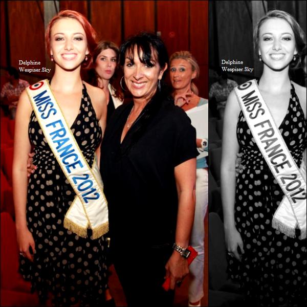 13/07/12 : Delphine pour Miss Réunion