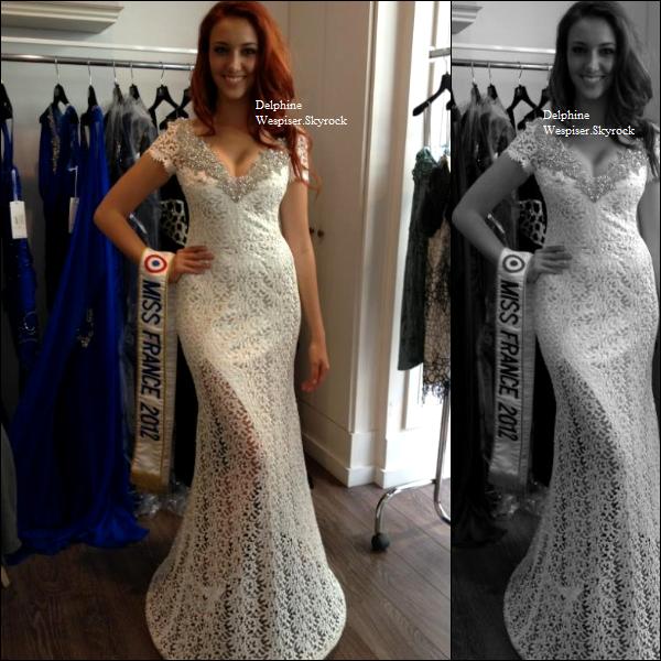 16/07/12 : Robe Miss Monde 2012