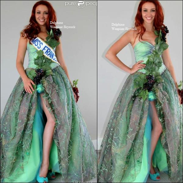27/07/12 : De retour / Delphine à Miss Monde