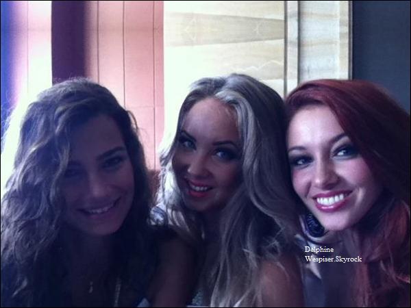 27/07/12 : Delphine à Miss Monde 2012