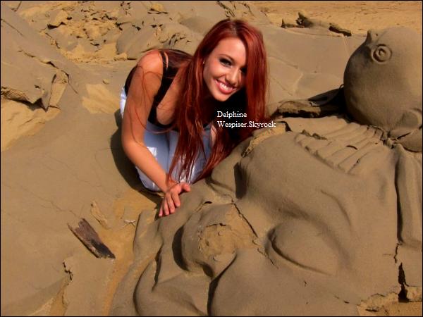 31/07/12 : Delphine dans les Dunes !