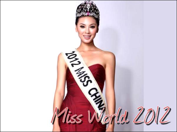 18/08/12 : Miss Monde 2012