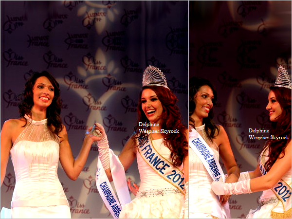 07/10/12 : Miss Champage-Ardenne, Miss Centre et Miss Guyane