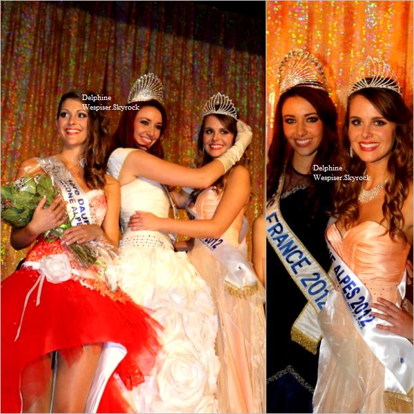 28/10/12 : Miss Rhône-Alpes et Miss Pays de Savoie