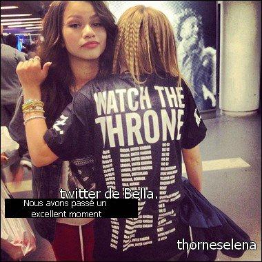 News de Selena et Bella.