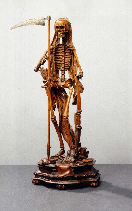 """Dans le Cabinet des Curiosités de Lenore:""""Les Statuettes d' Ecorchés"""""""