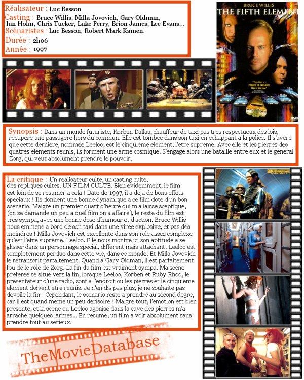 Film - Le Cinquieme Element