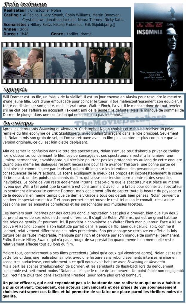 Film - Insomnia