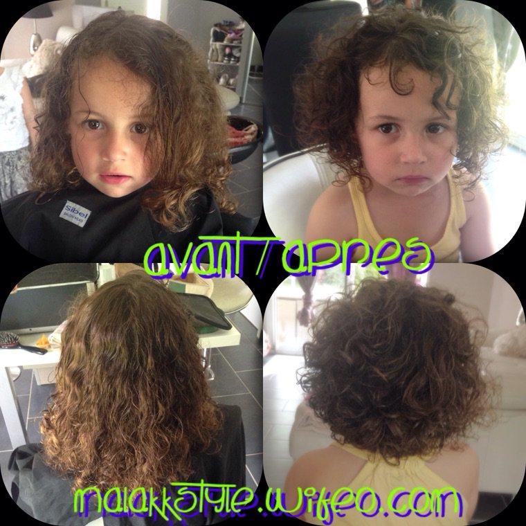 coupe enfant avant apres malakk 39 style hairstylist coiffeur multiethnique. Black Bedroom Furniture Sets. Home Design Ideas