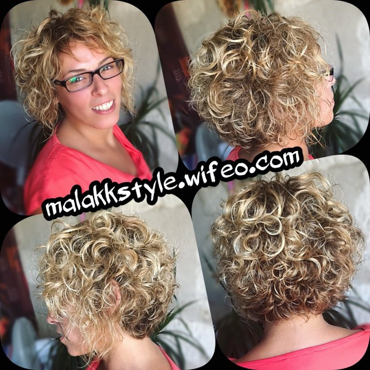 Coloration coupe coiffage