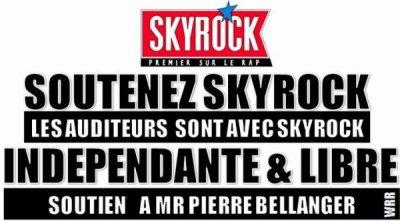 La liberté de Skyrock. Pour eux, c'est un droit, pour moi, c'est un devoir.