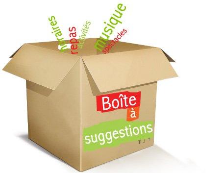 Boîte à suggestions