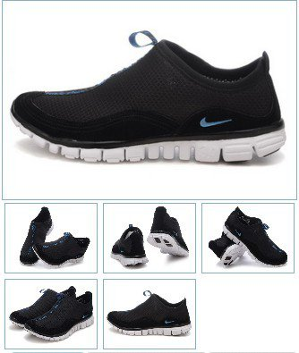 Nike Free Cross Country Black Running Shoes