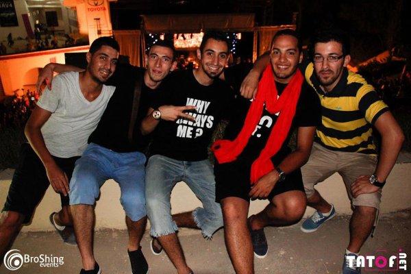 tres belle soirée avec mes amis