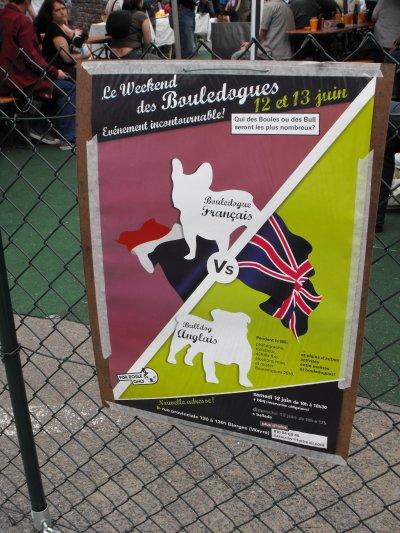 LA journee du bouledogue francais et anglais