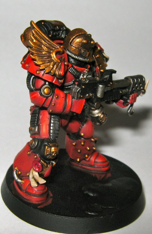 P.I.P. blood angel veteran truescale !