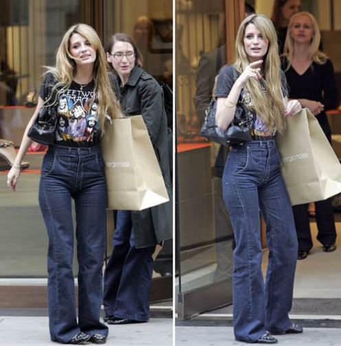 Jessica Simpson Et Mischa Barton Portent Des Couches Pour