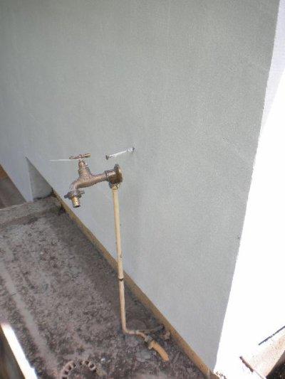 Point de d tails fixation robinet ext rieur blog de for Plaque murale robinet exterieur