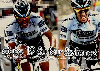 Article 17 : le résumé de l'étape 19 ; by cycling-actuality Source numéro 1 sur le cyclisme
