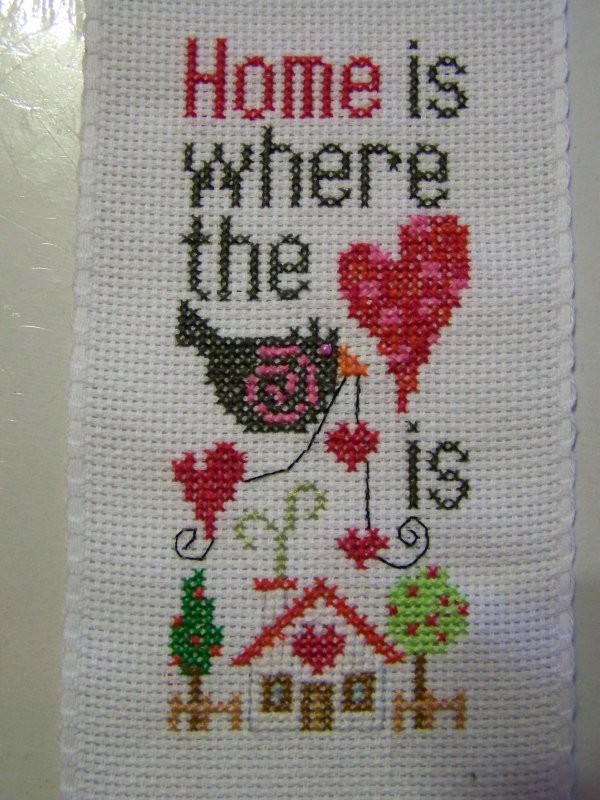 """sal """"Home is where the heart is"""" - étapes - oiseau gris"""