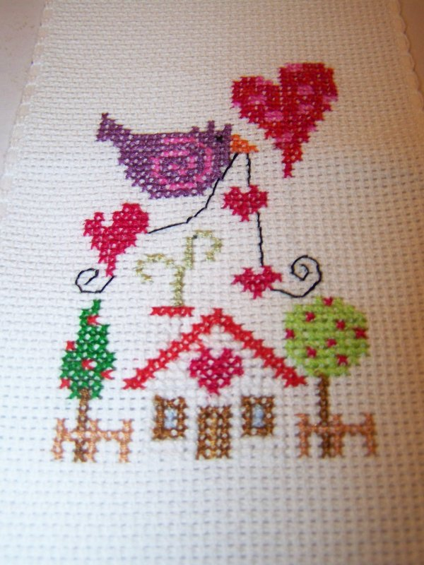 """sal """"Home is where the heart is"""" - étapes - oiseau violet"""