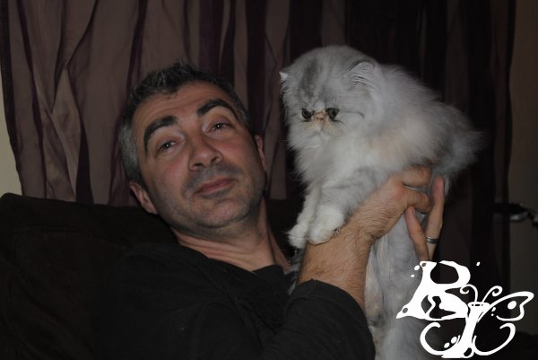 Câlins avec mon papa... Porcinette 3mois1/2
