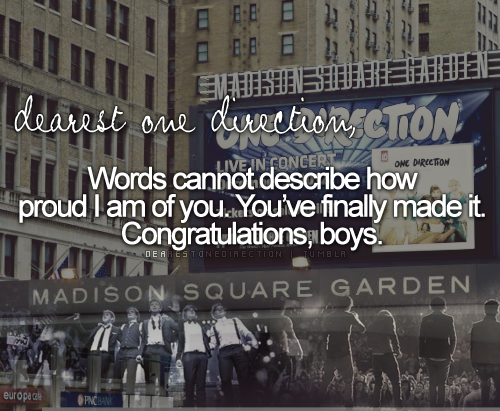 One Band One Dream One Direction ♥