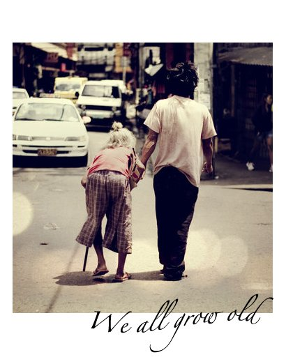 Living Words : We all grow old...