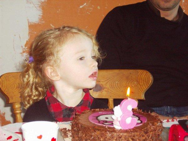 ma fille a pris 3 ans le 27 décembre