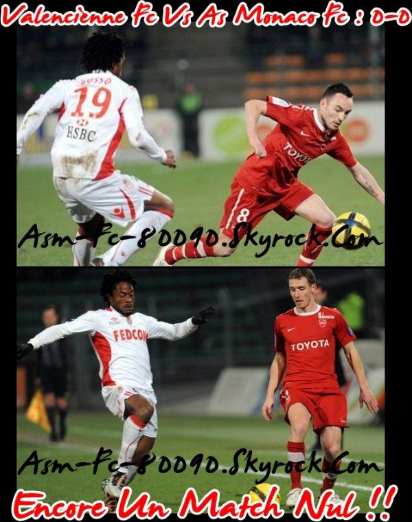Valenciennes Fc - As Monaco Fc : 0-0
