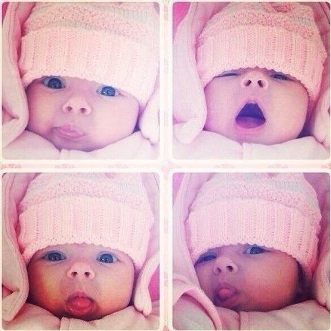 Mon bby à moi. ( ma nièce ) ?????❤