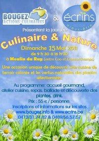 Journée Culinaire et Nature