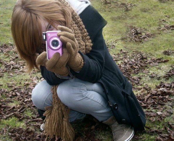 Ma Vie, la Photographie # Photo N°1 : Autoportrait. Photographie-Cecile.skay