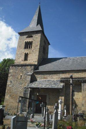 52  église de Cazeaux de Larboust ( 31 )