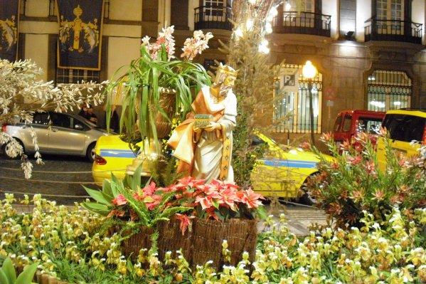135  Décorations florales