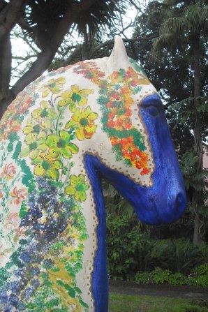 148       Le cheval bleu
