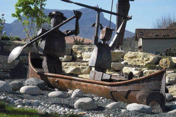 189    Sculptures en fer