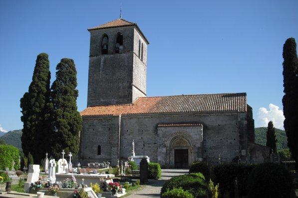 225     La basilique Saint Just de Valcabrère (31 )
