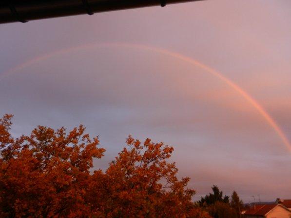 302    Arc en ciel matinal