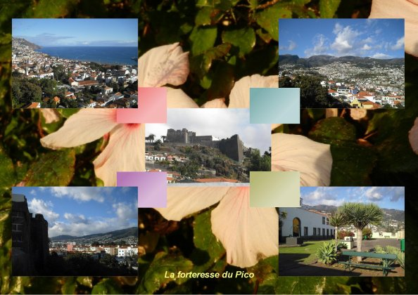 338  Forteresse du Pico à Funchal...